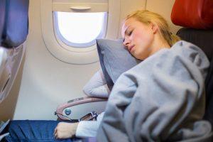 از رختخواب هواپیما استفاده نکنید.
