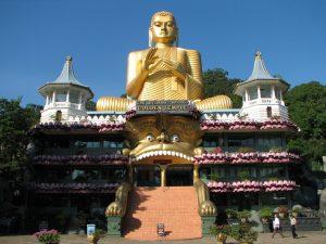 معبد بودایی در سریلانکا مقصد مسافرت توریستی