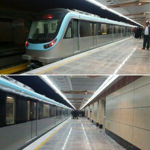 مترو از وسایل نقلیه عمومی شهر مشهد